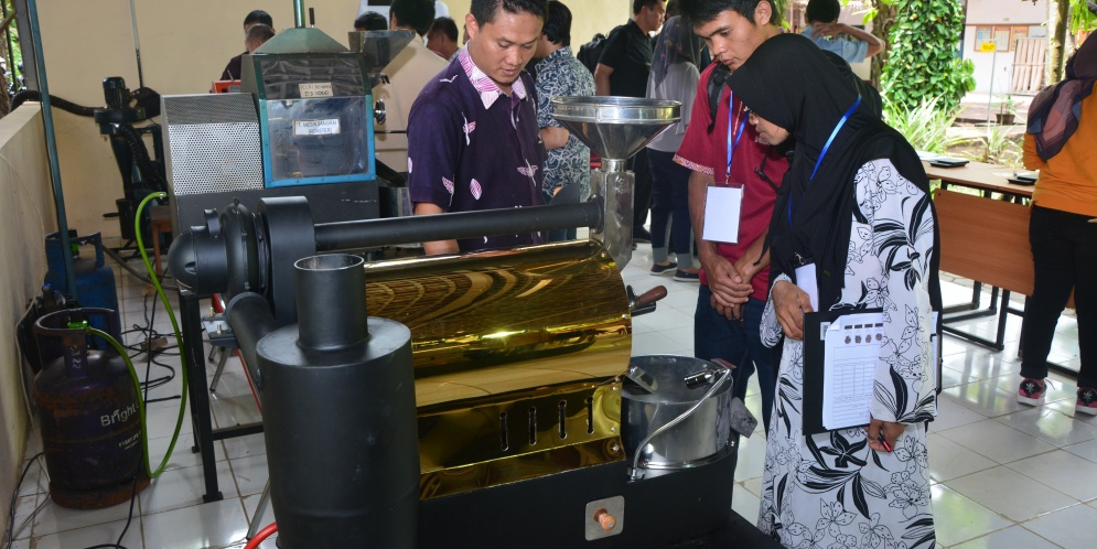 Pelatihan Coffee Roasting and Blending, 6-8 Februari 2019