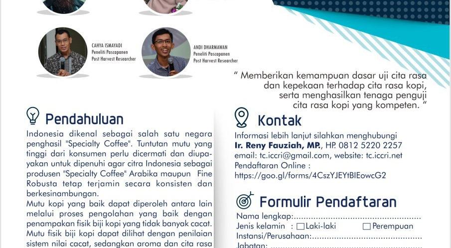 Formulir Pendaftaran UCK Periode IV, 7-9 Agustus 2018